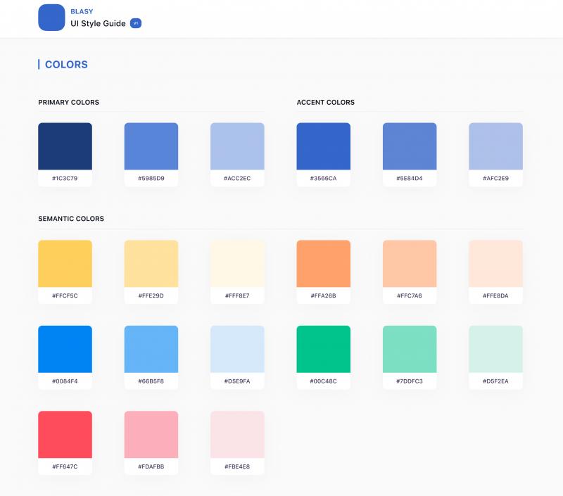 ARGE Baustahl Gestaltungsrichtlinien Farbpalette.